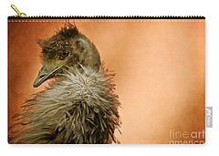 That Shy Come-hither Stare Carry-all Pouch by Lois Bryan
