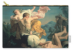 The Abduction Of Deianeira By The Centaur Nessus Carry-all Pouch by Louis Jean Francois Lagrenee