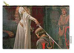 The Accolade Carry-all Pouch by Edmund Blair Leighton