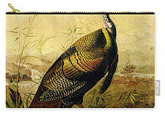 The American Wild Turkey Cock Carry-all Pouch by John James Audubon