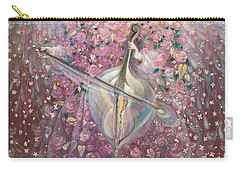 The Angel Of Love Carry-all Pouch by Annael Anelia Pavlova