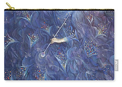 The Angel Of Power Carry-all Pouch by Annael Anelia Pavlova