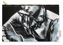 The Answer My Friend Is Blowin In The Wind Carry-all Pouch by Luis Ludzska