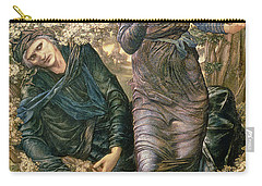 The Beguiling Of Merlin Carry-all Pouch by Sir Edward Burne-Jones