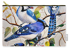 The Blues Carry-all Pouch by Marilyn Smith