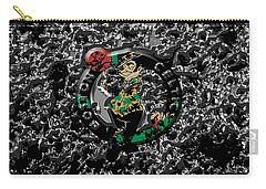 The Boston Celtics 1a Carry-all Pouch by Brian Reaves