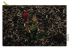 The Boston Celtics 1b Carry-all Pouch by Brian Reaves