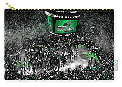 The Boston Celtics 2008 Nba Finals Carry-all Pouch by Brian Reaves