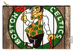 The Boston Celtics 2a Carry-all Pouch by Brian Reaves