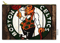 The Boston Celtics 2d Carry-all Pouch by Brian Reaves