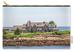 The Bush Family Compound On Walkers Point Carry-all Pouch by Brian MacLean
