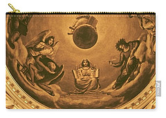 The Ceiling Of Notre Dame University Carry-all Pouch by Dan Sproul
