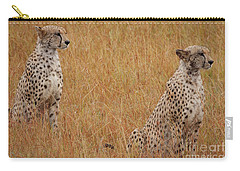 The Cheetahs Carry-all Pouch by Nichola Denny