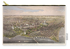 The City Of Washington Carry-all Pouch by Charles Richard Parsons