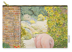 The Convent Garden Pig Carry-all Pouch by Ditz