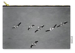 The Flock Carry-all Pouch by Kim Hojnacki