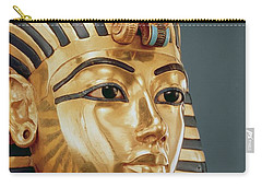 The Funerary Mask Of Tutankhamun Carry-all Pouch by Unknown