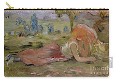 The Goatherd Carry-all Pouch by Berthe Morisot