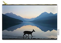 The Grace Of Wild Things Carry-all Pouch by Dustin  LeFevre