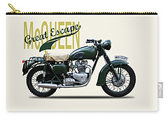 The Great Escape Motorcycle Carry-all Pouch by Mark Rogan