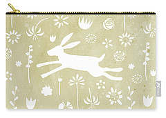 The Hare In The Meadow Carry-all Pouch by Nic Squirrell