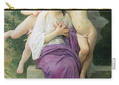 The Hearts Awakening Carry-all Pouch by William Adolphe Bouguereau
