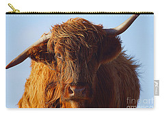 The Highland Cow Carry-all Pouch by Stephen Smith