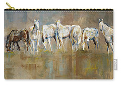 The Horizon Line Carry-all Pouch by Frances Marino