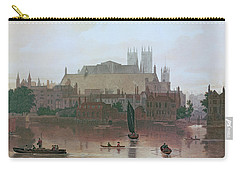 The Houses Of Parliament Carry-all Pouch by George Fennel Robson