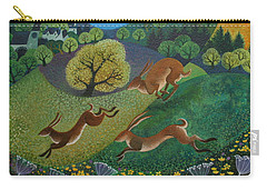 The Joy Of Spring Carry-all Pouch by Lisa Graa Jensen