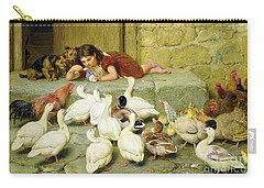 The Last Spoonful Carry-all Pouch by Briton Riviere