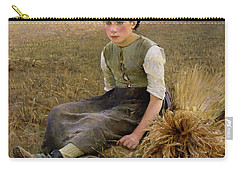 The Little Gleaner Carry-all Pouch by Hugo Salmson