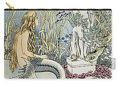 The Little Mermaid Carry-all Pouch by Ivan Jakovlevich Bilibin