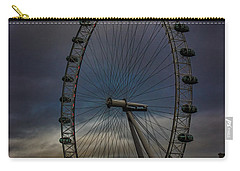 The London Eye Carry-all Pouch by Martin Newman
