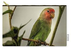 The Lovebird  Carry-all Pouch by Saija  Lehtonen