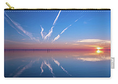 Carry-all Pouch featuring the photograph The Mirror by Thierry Bouriat