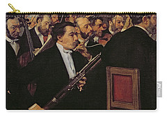 The Opera Orchestra Carry-all Pouch by Edgar Degas