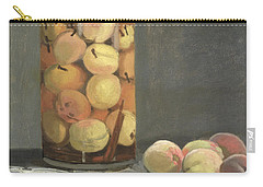 The Peach Glass Carry-all Pouch by Claude Monet