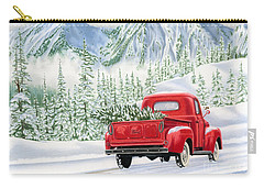 The Road Home Carry-all Pouch by Sarah Batalka