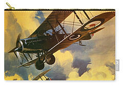 The Royal Flying Corps Carry-all Pouch by Wilf Hardy