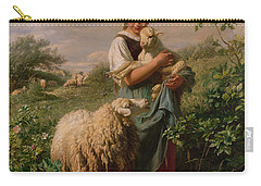 The Shepherdess Carry-all Pouch by Johann Baptist Hofner