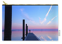 Carry-all Pouch featuring the photograph The Silent Man by Thierry Bouriat