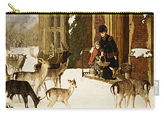 The Sisters Of Charity Carry-all Pouch by Charles Burton Barber