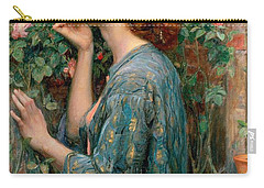 The Soul Of The Rose Carry-all Pouch by John William Waterhouse