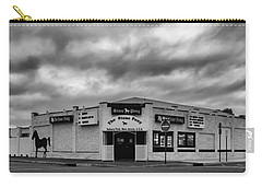 The Stone Pony Asbury Park New Jersey Black And White Carry-all Pouch by Terry DeLuco