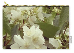 The Summer Smells Like A Mock Orange Carry-all Pouch by Arletta Cwalina