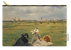 The Swallows Carry-all Pouch by Edouard Manet