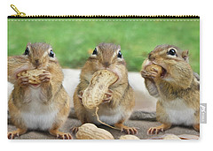 The Three Stooges Carry-all Pouch by Lori Deiter
