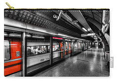 The Underground System Carry-all Pouch by David Pyatt
