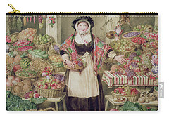 The Vegetable Stall  Carry-all Pouch by Thomas Frank Heaphy